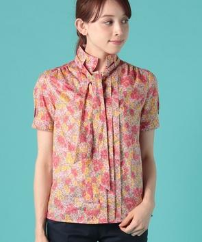 【セットアップ対応商品】リバティグロリアフラワープリントシャツ