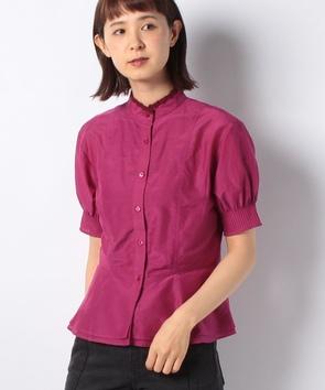 シルクコットンローンシャツ