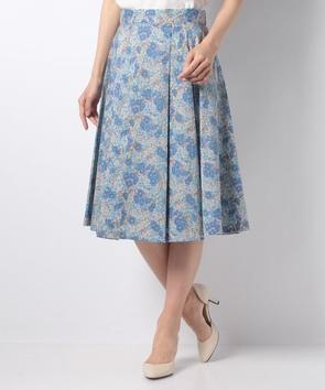 【セットアップ対応商品】リバティグロリアフラワープリントスカート