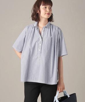【WEB先行】パジャマストライプシャツ