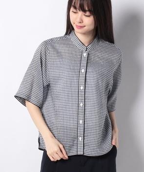 WEB限定【OEPP】ギンガムチェックシャツ