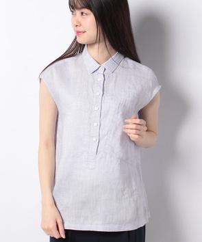 【WEB先行】リネンオックスシャツ