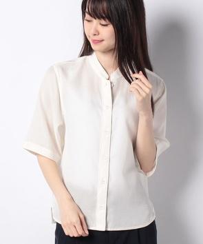 【WEB先行】キュプラコットンツイルシャツ