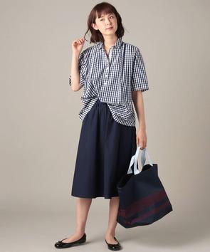 【WEB先行】コットントロピカルスカート