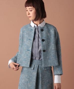 【セットアップ対応商品】ポンテトルドツィードジャケット