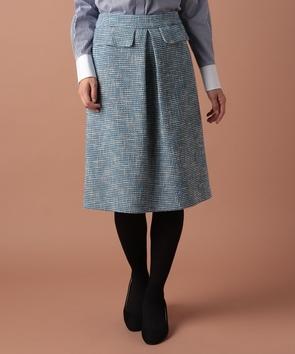 【セットアップ対応商品】ポンテトルドツィードスカート