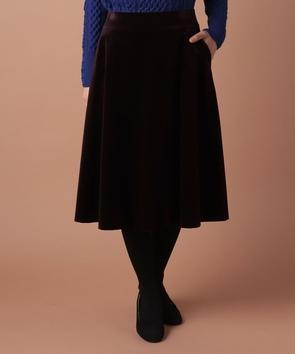 ベルベットスカート