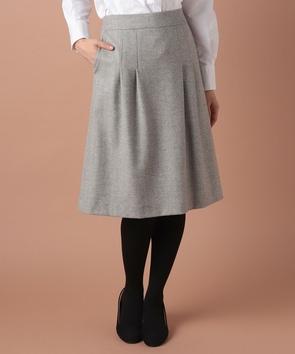 プレミアムウールストレッチスカート