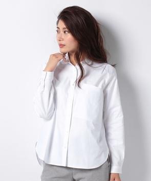 WEB限定【OEPP】オックスフォードラウンドカラーシャツ