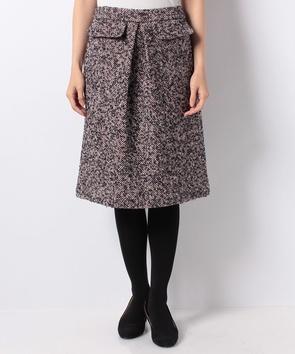 【セットアップ対応商品】ループツィードスカート