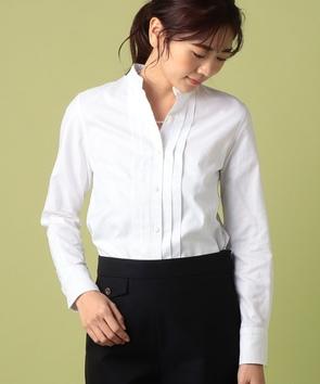 カンクリーニオックスフォードピンタックシャツ
