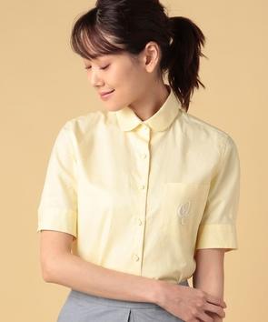コットンオックス半袖シャツ