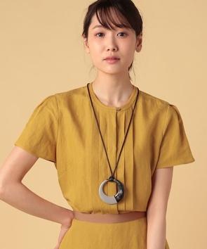 【セットアップ対応商品】リネンレーヨンポプリンシャツ