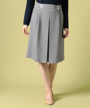 【セットアップ対応商品】ポンテトルトツィードスカート