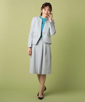 【セットアップ対応商品】シアサッカースカート