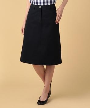 コンパクトチノクロススカート