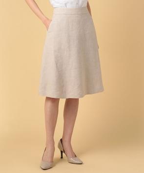 リネンキャンバススカート