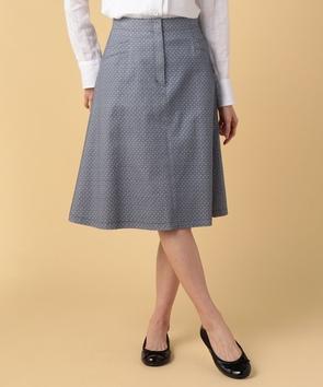 プチフラワープリントスカート
