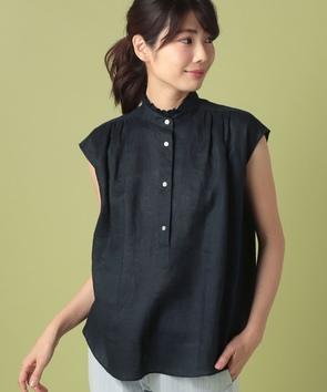 WEB限定【OEPP】ウォッシュリネンシャツ