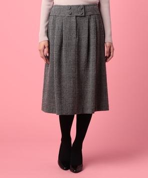 【セットアップ対応商品】ボノットツィードスカート
