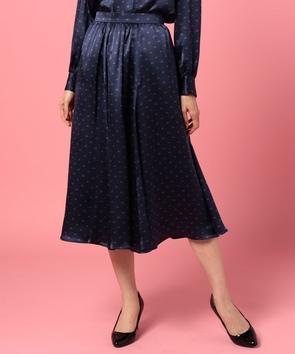 【セットアップ対応商品】ジオメトリックプリントスカート