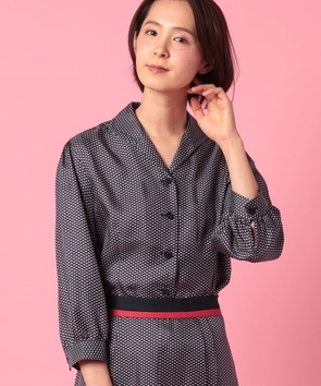 【セットアップ対応商品】BINDAトリコロールプリントシャツ