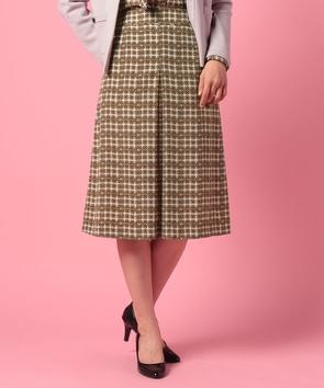 【雑誌掲載】リングプリントスカート