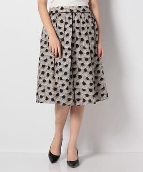 パルメットフレンチプリントスカート