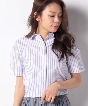 サマーストライプシャツ