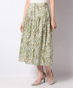 リバティプリントスカート