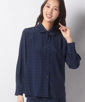 【セットアップ対応商品】BINDAジオメトリックプリントシャツ