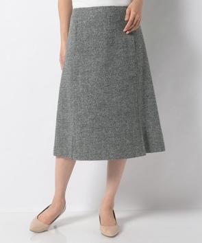 バーズアイツィードスカート