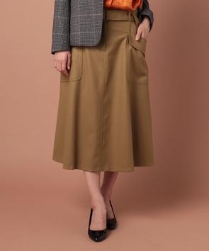 フラノストレッチスカート