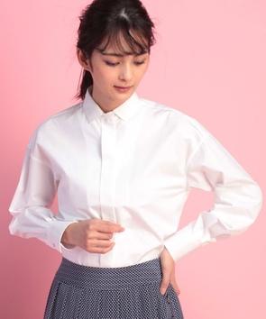 コットンポプリンシャツ