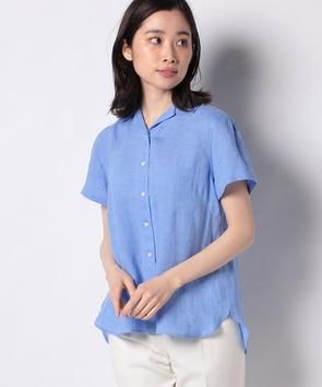 モンティリネン半袖シャツ