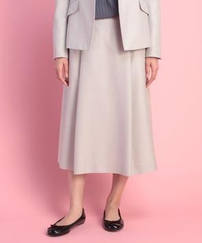 【セットアップ対応商品】シルクウールシャークスキンスカート
