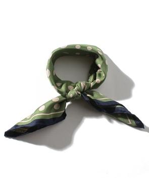 シルクドットスカーフ