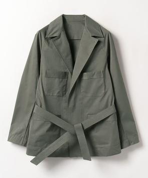 ベルト付きジャケット