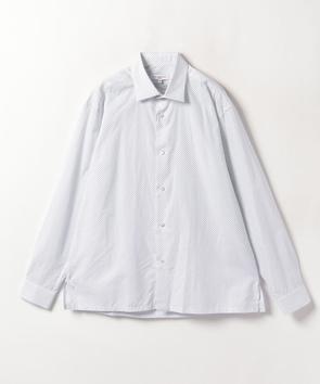 プリントコットンシャツ