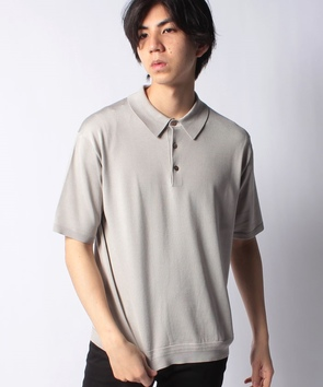 シルクポロシャツ