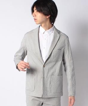 【セットアップ対応商品】シアサッカージャケット