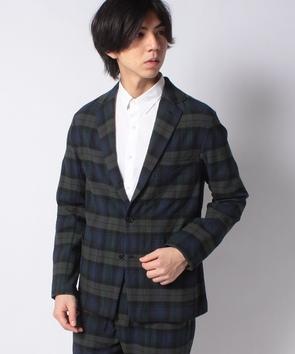 【セットアップ対応商品】チェックジャケット