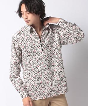 フラワーPTスキッパーシャツ