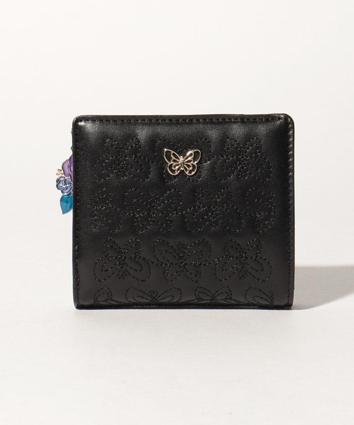 エターナルバタフライ Lファスナー二つ折り財布