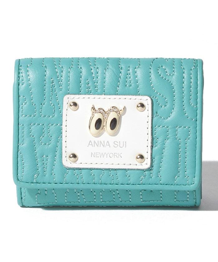 ピーク ア ブー 三つ折りBOXミニ財布