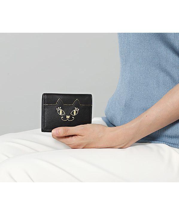 マイティティ三つ折りボックス財布