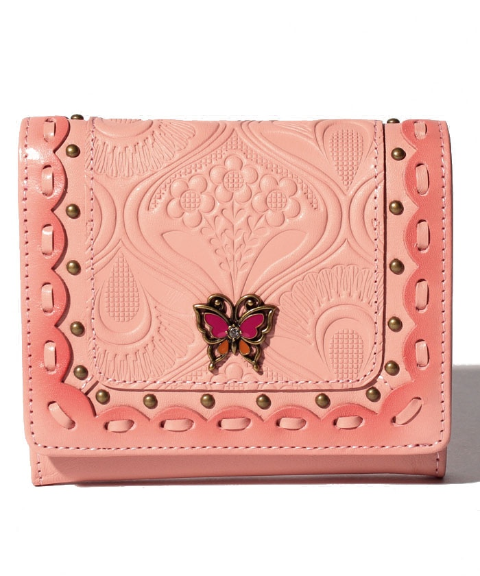 シエスタ 二つ折りBOX財布