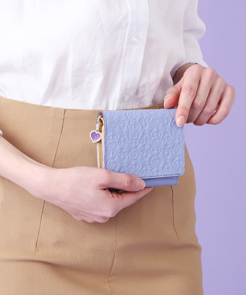 インザハート 二つ折りBOX財布