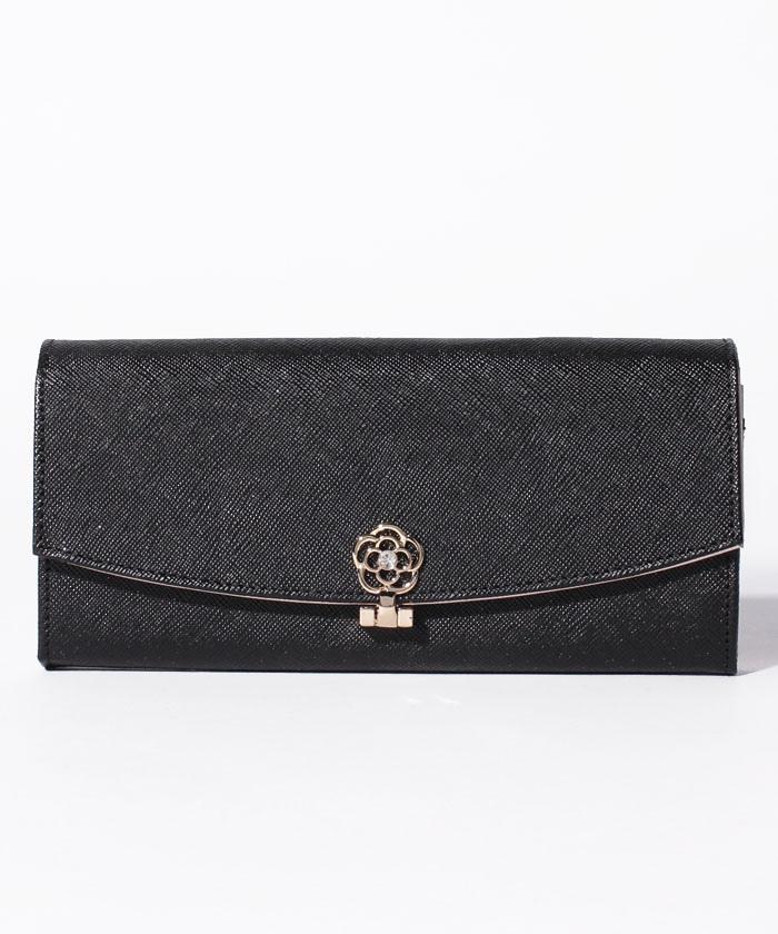 ミルラ フラップ長財布