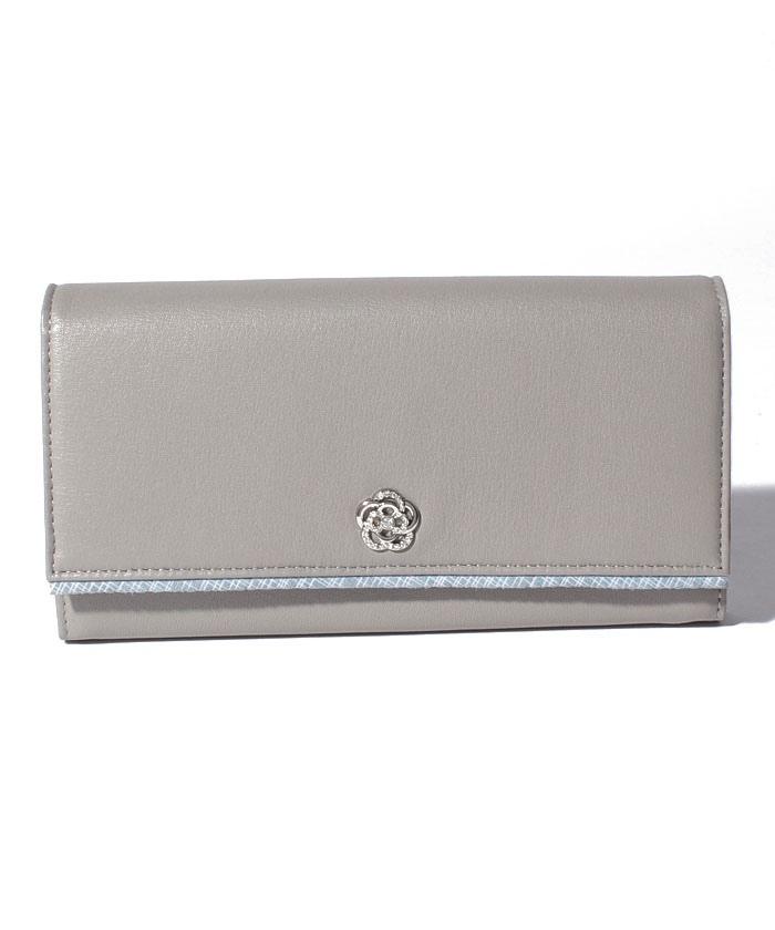 メテオール フラップ長財布